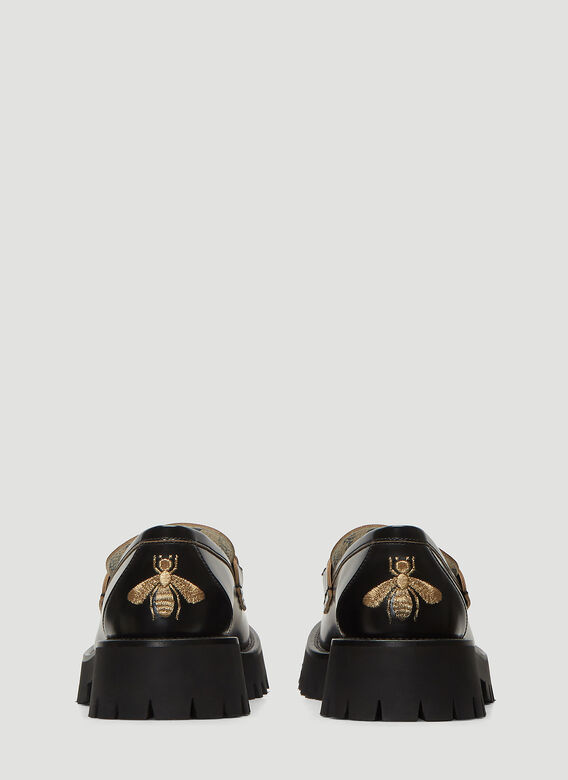Gucci MOCCASIN LEATHER,R.S 4
