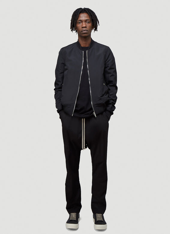 Rick Owens Reversible Cropped Flight Jacket 2