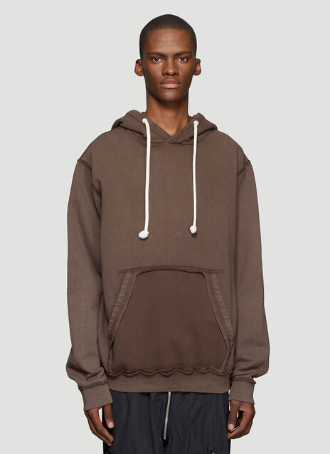 Maison Margiela Cut-Out Pocket Hooded Sweatshirt