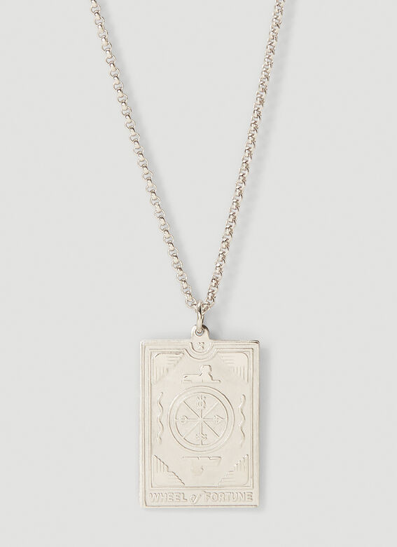 Tom Wood Fortune pendant 10.10 DOG TAGS 20.5 inches 2