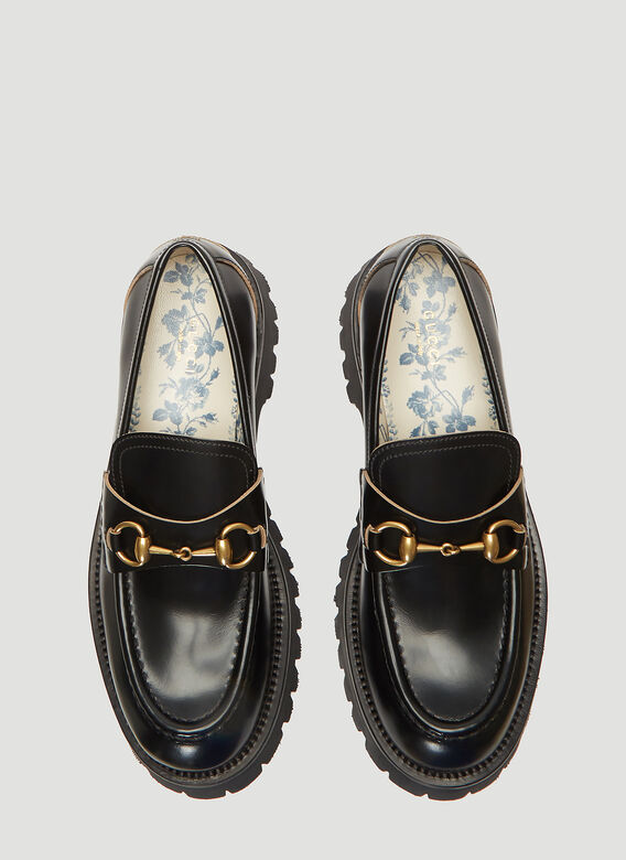 Gucci MOCCASIN LEATHER,R.S 2