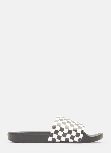 Vans Checker Slides