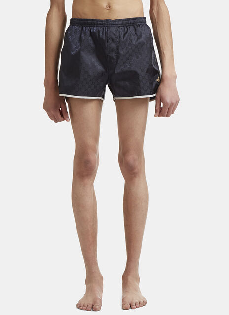 Bee Embroidered Swimming Shorts