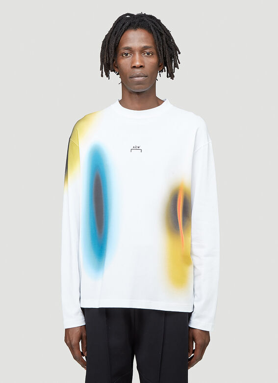A-COLD-WALL* Hypergraphic Long-Sleeved T-shirt 1