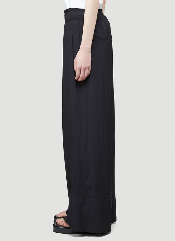 JW Anderson ELASTICATED WAIST WIDE LEG TROUSERS 3
