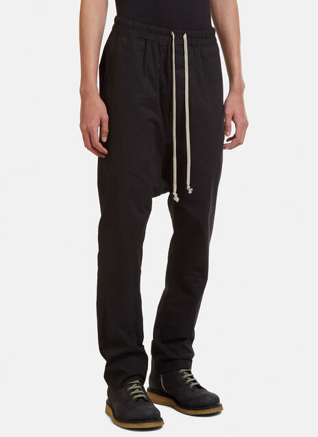 Rick Owens Drawstring Tapered Pants