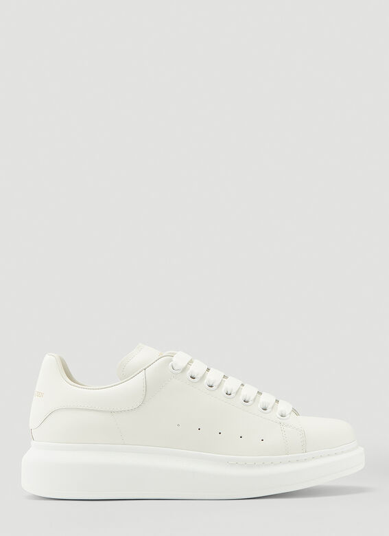 Alexander McQueen LARRY/LARRY LEATHER UPPER AND RU WHITE/WHITE 1