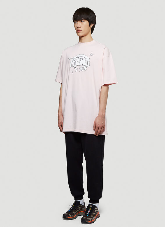 Vetements MAGIC UNICORN T-SHIRT 2