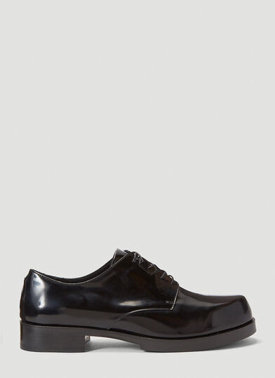 1017 ALYX 9SM Lace-Up Derby Shoes in Black