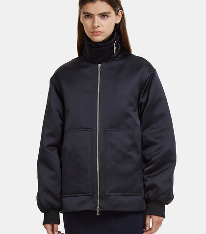 Corseted Aviator Coat