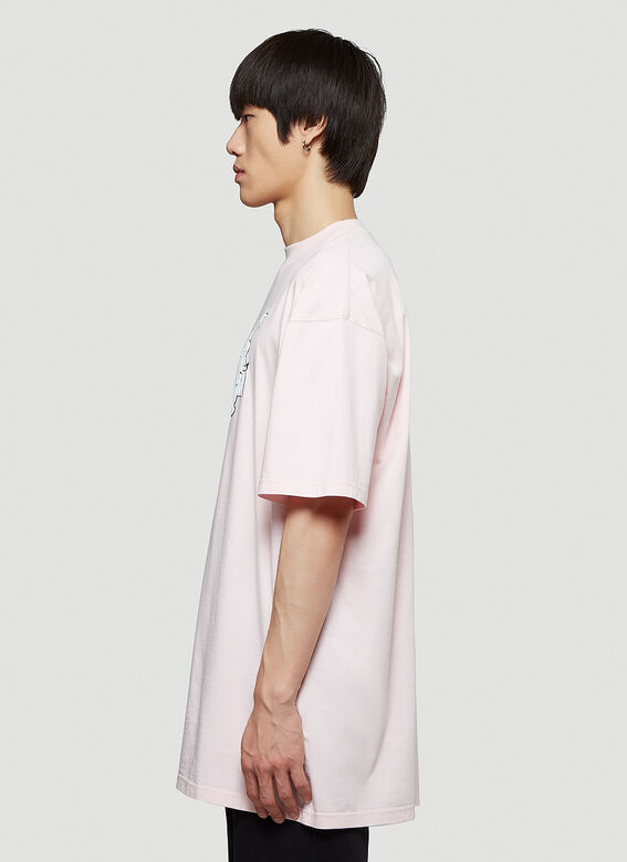 Vetements MAGIC UNICORN T-SHIRT 3