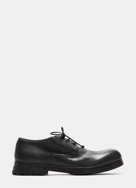 Zuccarr Low Leather Derby Shoes