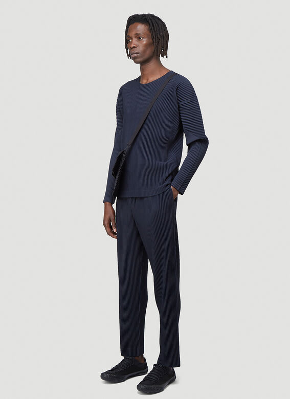 Homme Plissé Issey Miyake Classic Pleated Pants 2