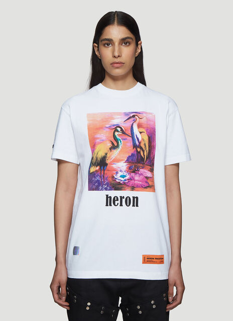 Heron Preston Painted Heron T-Shirt