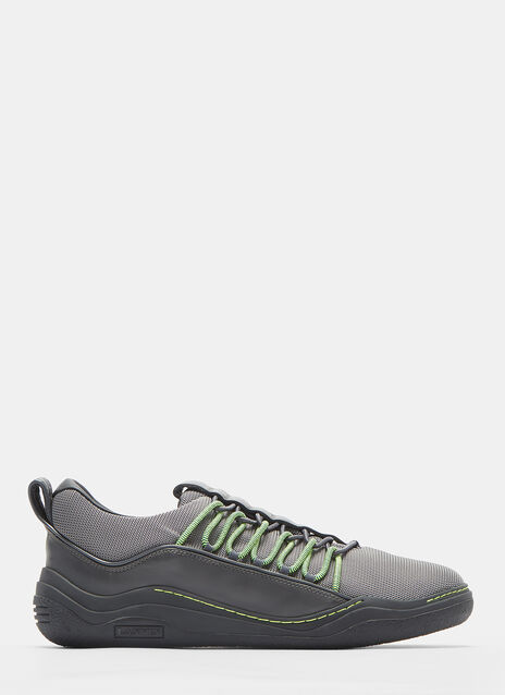 Lanvin Diving Elastic-Strapped Mesh Sneakers