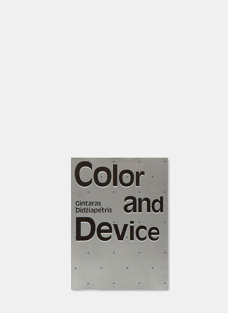 Books Color and Device by Gintaras Didžiapetris
