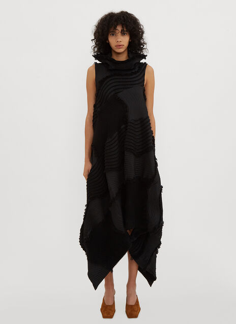 Issey Miyake Stag Pleated Dress