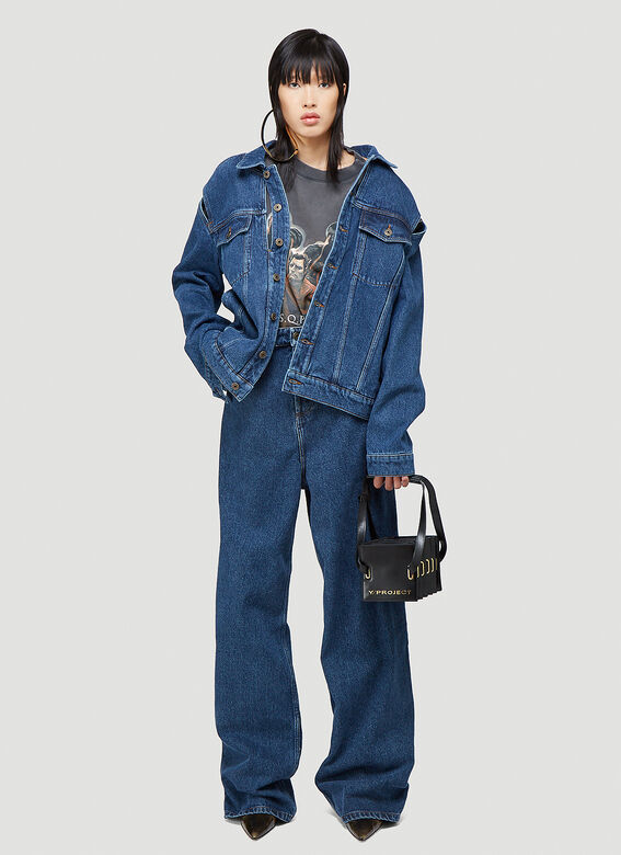 Y/Project CLASSIC PEEP SHOW DENIM JACKET 2