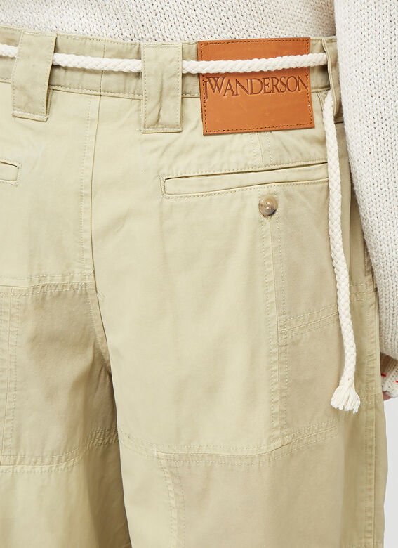 JW Anderson CROPPED TROUSERS PATCHWORK 5