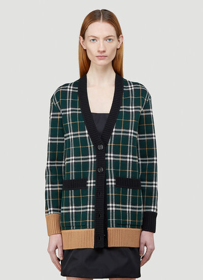 Burberry Glaisnock Knitted Cardigan