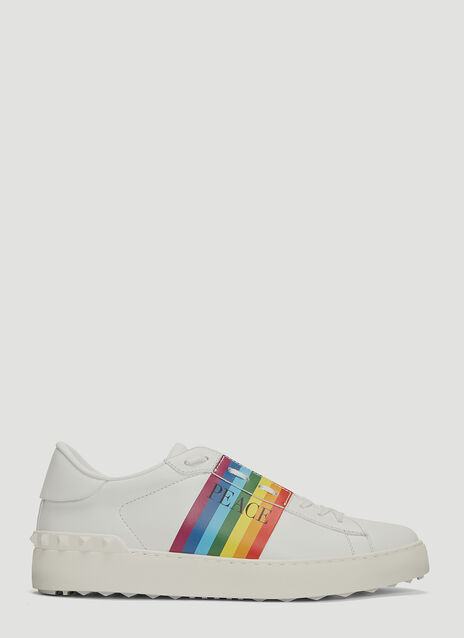 Valentino Open Rainbow Sneakers