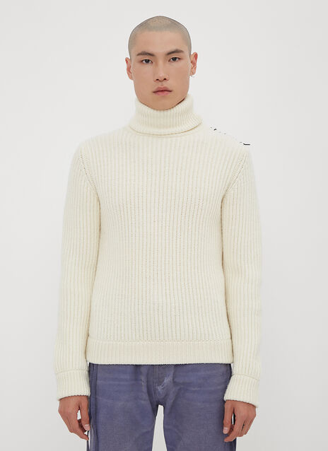 Vyner Articles Turtle Neck Knit Sweater