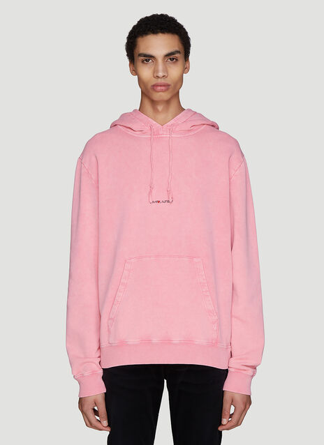 Saint laurent Hooded Logo Sweatshirt
