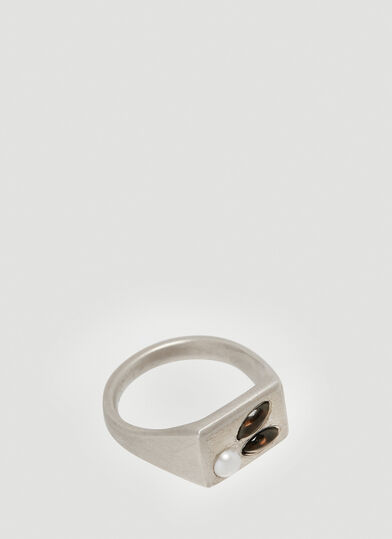 Mass 어웨이크 Awakened Quartz Ring in Silver