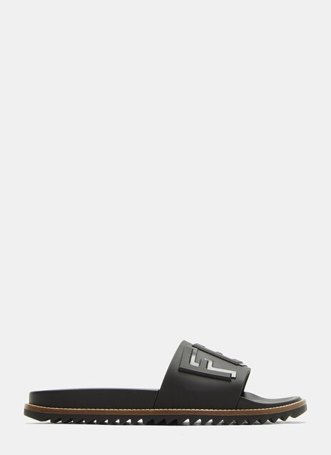 Fendi Rubber Sliders