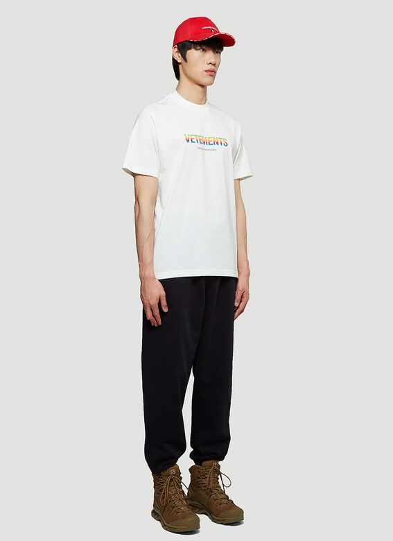 Vetements THINK DIFFERENTLY LOGO T-SHIRT R 2