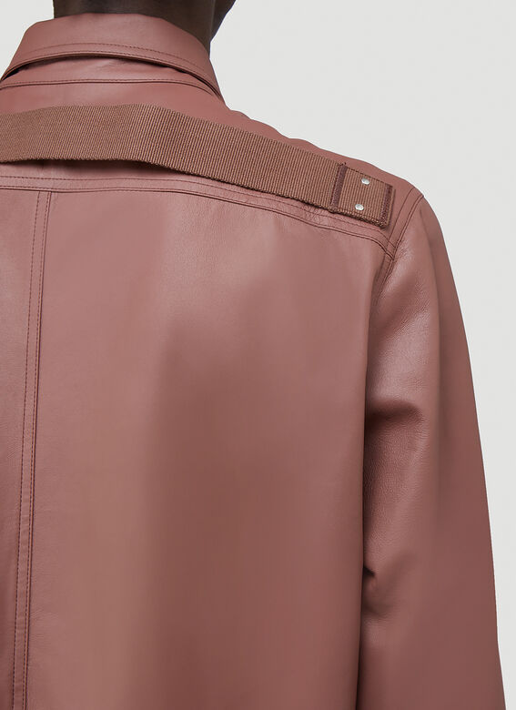 Rick Owens OUTER SHIRT LEATHER 5