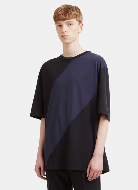 Yang Li Contrast Panel T-Shirt