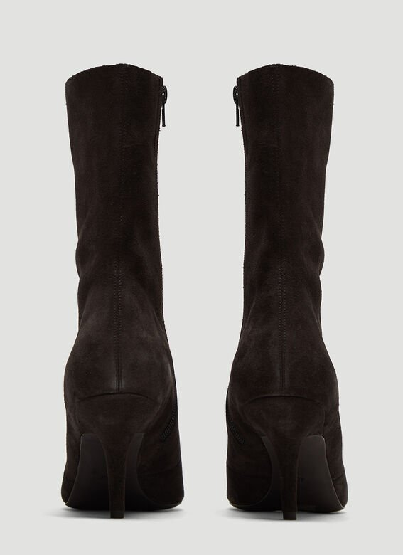 Yeezy Suede Ankle Boots