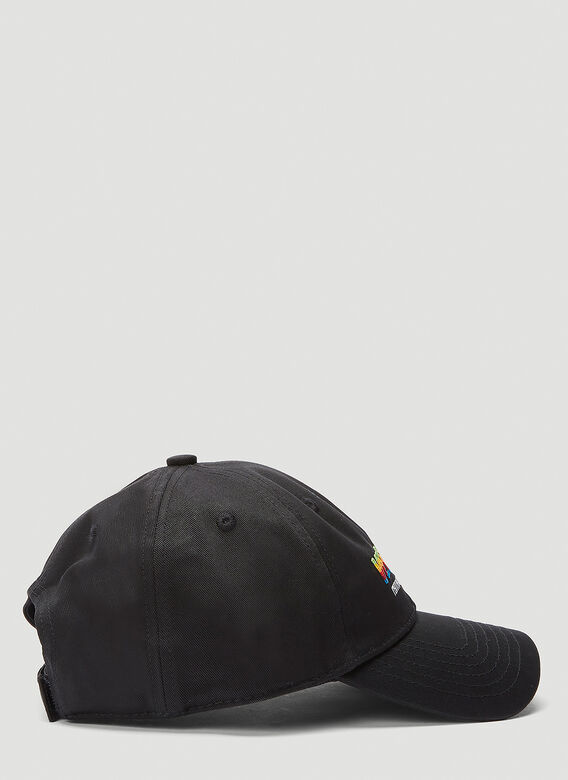 VETEMENTS THINK DIFFERENTLY LOGO CAP 2