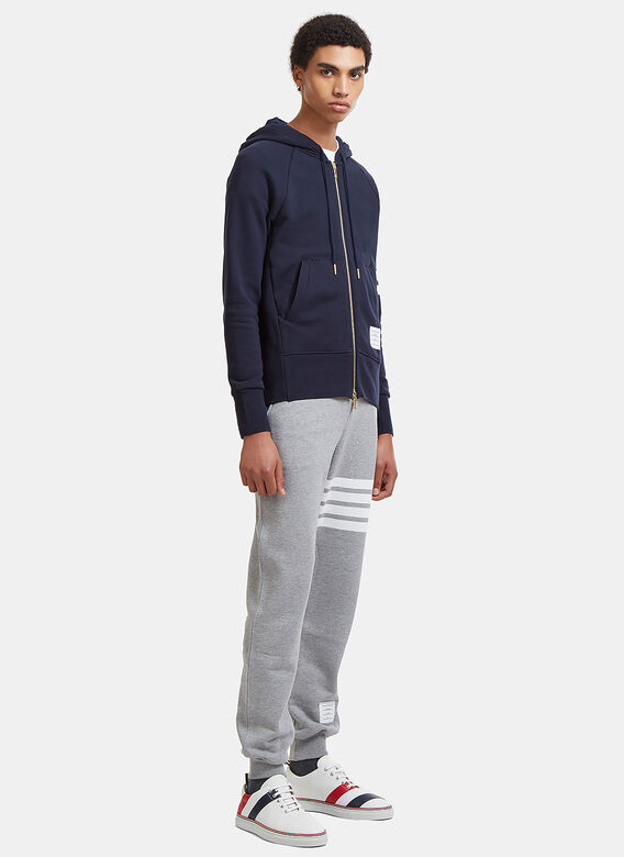 Thom Browne CLASSIC SWEATPANT WITH ENGINEERED 4-BAR IN CLASSIC LOOP BACK 2