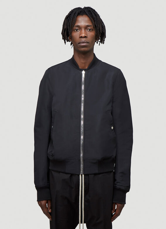 Rick Owens Reversible Cropped Flight Jacket 1