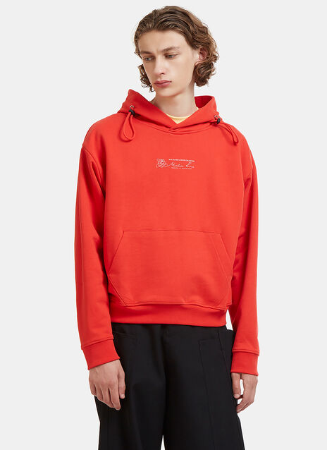 Double Drawcord Hooded Sweater