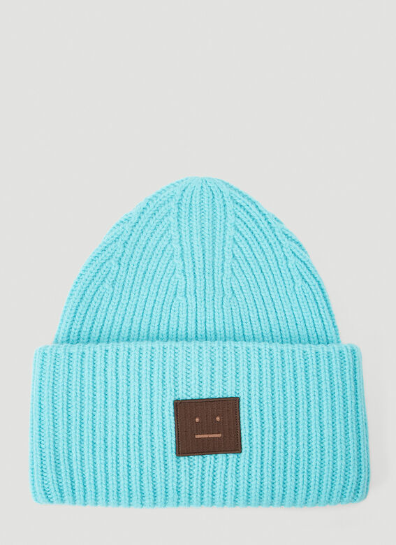 Acne Studios Pansy N Face Knit Hat 1