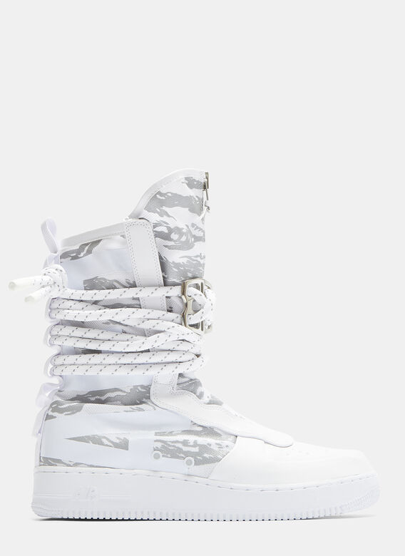 low priced 03512 81874 SF Air Force 1 High Premium Sneakers in White