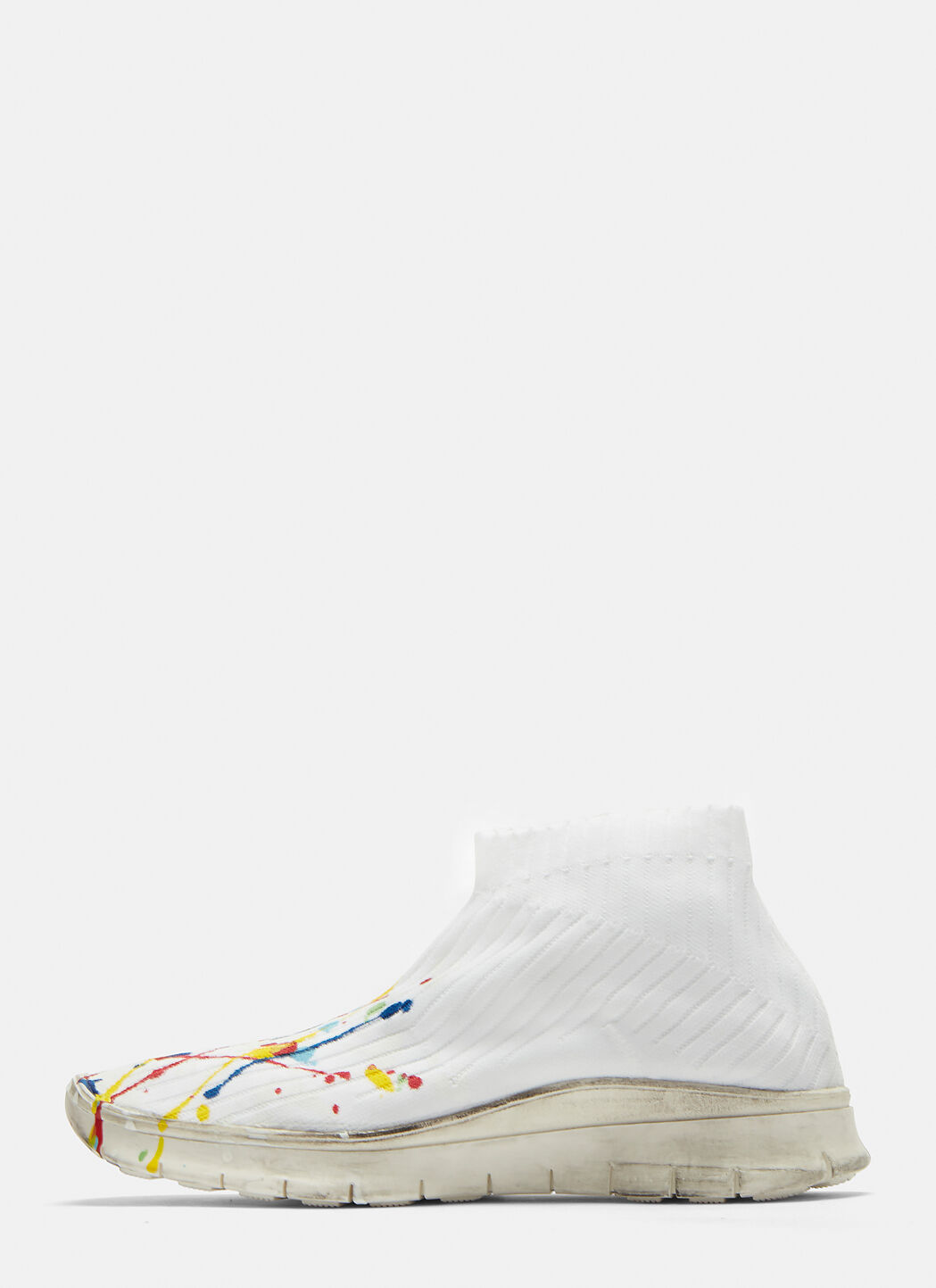 Maison MargielaSock Painter Mid-Top Sneakers