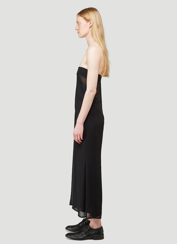 ARO ARCHIVE Sheer Oversized Trousers as Sleeveless Jumpsuit 2