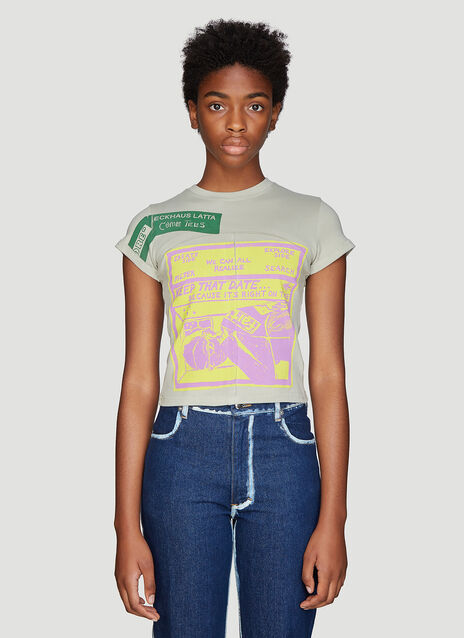 Eckhaus Latta X Come Tees Lapped Dust T-Shirt