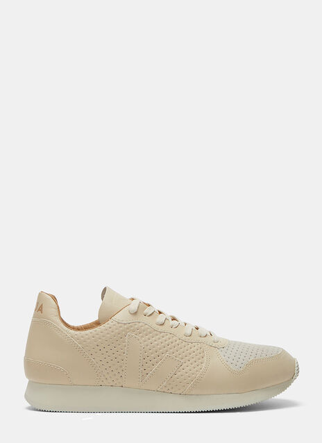 Veja Holiday Low-Top Perforated Leather Sneakers