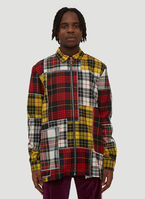 Palm Angels Patchwork Shirt