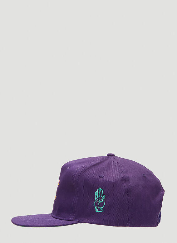 Stain Shade Embroidered Baseball Cap 3