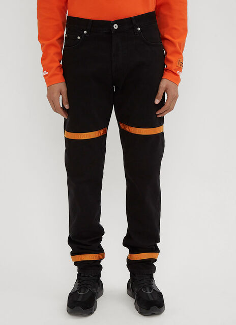 Heron Preston Tape 5 Denim Jeans