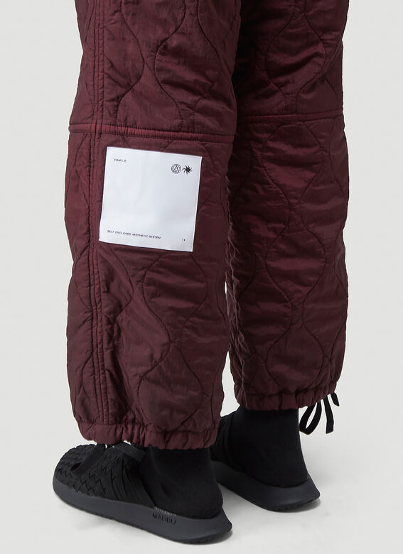 OAMC Quilted Combat Pants 5