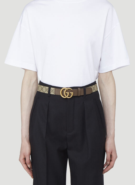 Gucci GG SUPREME FABRIC BELT 2