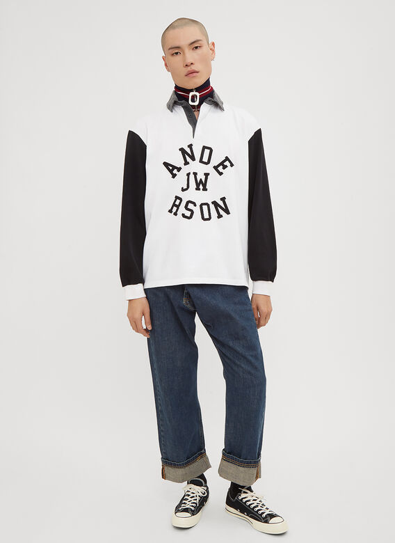 JW Anderson Long Sleeve Rugby Polo