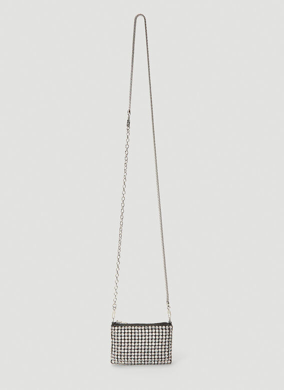 Alexander Wang Wangloc Rhinestone Mini Shoulder Bag 1